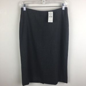 NWT Grey Banana Republic Pencil Skirt